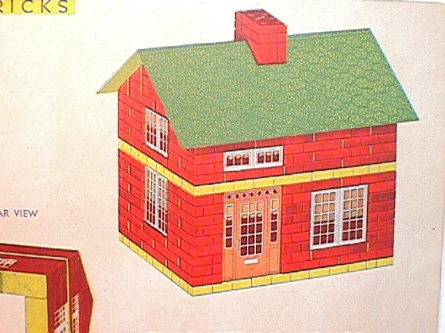 The back of a plan booklet showing the general style of buildings ...